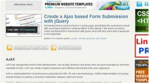 jQuery Form Submission Using Ajax