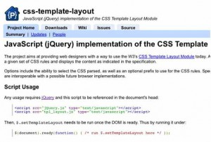 jQuery plug-ins for web page layouts