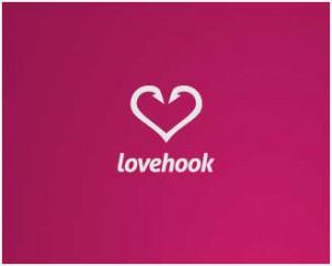 inspiring heart shaped logo designs