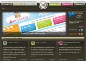 organic web design