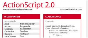 cheat sheets for easier coding