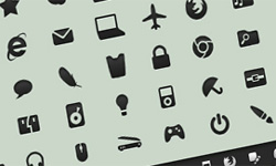 application design icons