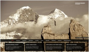 big background in web design
