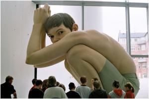 hyperrealistic sculpture