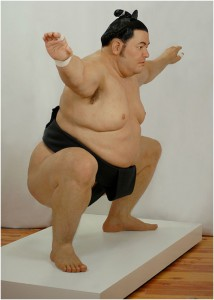 hyperrealistic sculpture