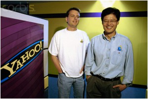 David Filo and Jerry Yang