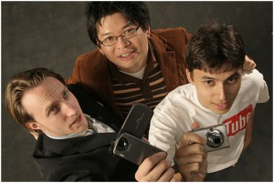 Chad Hurley, Steve Chen, and Jawed Karim