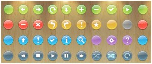 Knob Buttons Toolbar Icons