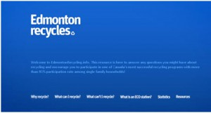 Edmonton Recycles | inspiration unique use of colors