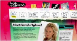 Sarah Hyland   inspiration unique use of colors