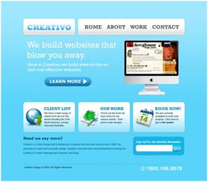 Create a Clean Web 2.0 Style Web Design in Photoshop