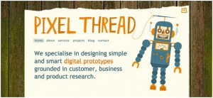 textured web design