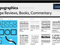 20 Font Driven Websites Showcase