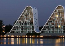 Architecture Inspiration: A New Landmark of Denmark, the Wave in Vejle