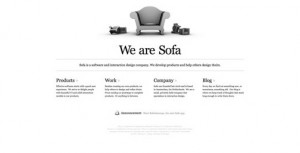 minimal website design