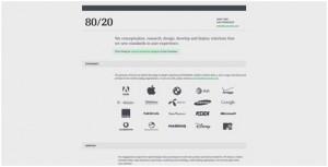 minimal website design
