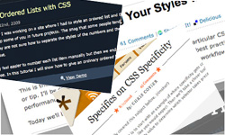 css articles