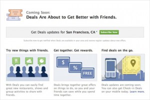 facebook deal product