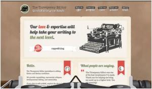 illustration in web design