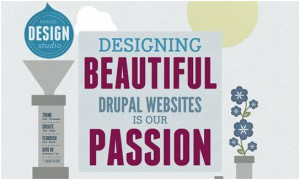 illustration in web design