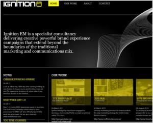 yellow web design