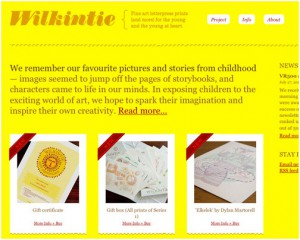 yellow web design
