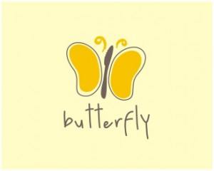 butterfly logo designs