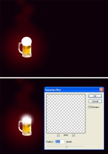 photoshop light effect