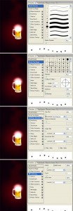 photoshop light effect