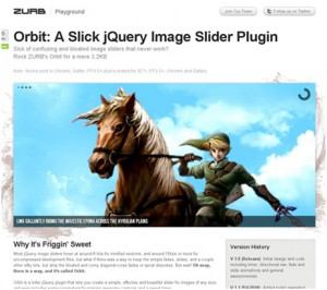 jquery image slide