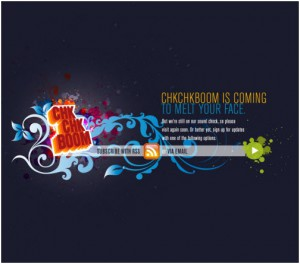 coming soon web page