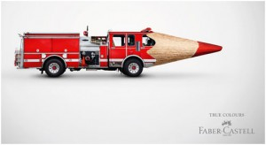clever print ad