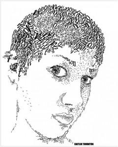 typographic portraits
