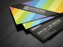 A Showcase of Colorful Business Cards