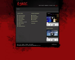 red web design