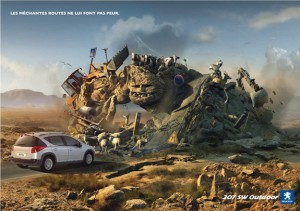 automobile advertisements