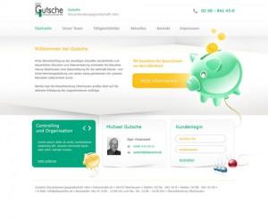 Classy & Professional Financial Web Designs