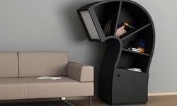 creative bookshelf design