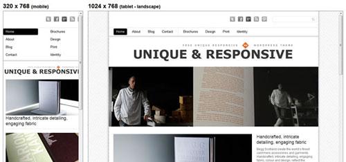 responsive wordpress theme
