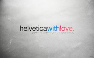Helvetica With Love