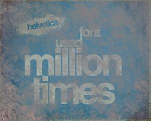 Dusty Helvetica