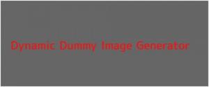 dummy image generator