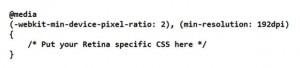 CSS Media Query