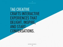 30 Creative and Inspirational Single Page Websites