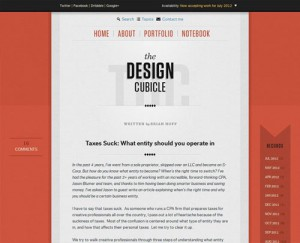 typography website