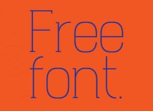 free font