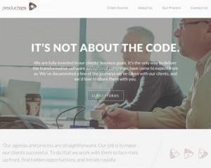 white web design