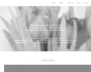 white web design