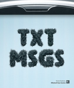typography in advertising
