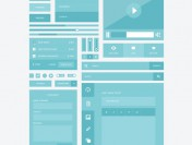 10 Really Useful Free Flat UI Kits
